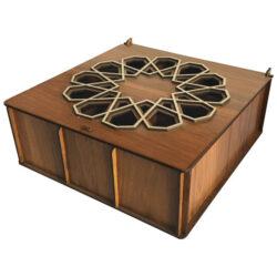 Wooden Tea Bag Box 2857