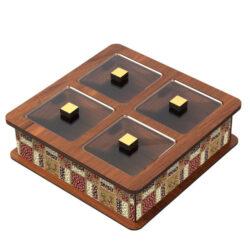 Wooden Tea Bag Box 6029