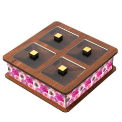 Wooden Tea Bag Box 6014