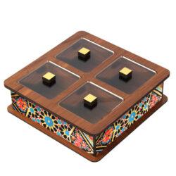 Wooden Tea Bag Box 6016