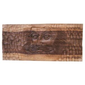 Wooden Carved Monabat Kari Tableau - Darvishan
