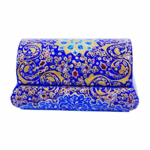 Persian Bone Jewelry box Handicraft Tazhib 1232