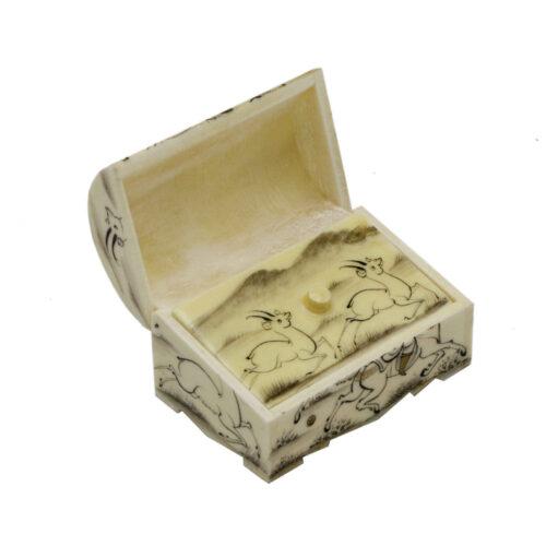 Persian Bone Jewelry box Handicraft Chogan M8