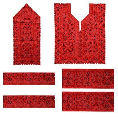 Balochi Suzani Dress Panel