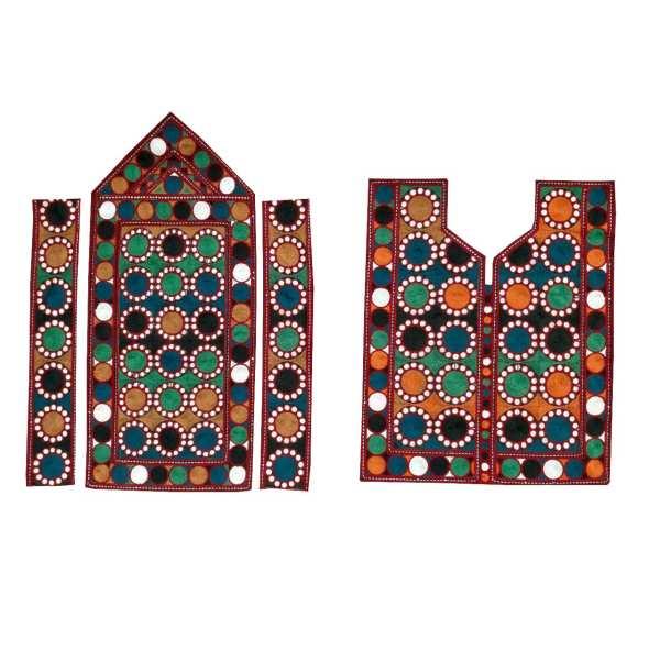 Balochi Embroidery Needlework Dress Panel