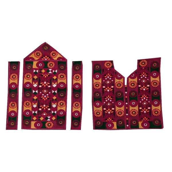 Balochi Embroidery Dress Panel A2
