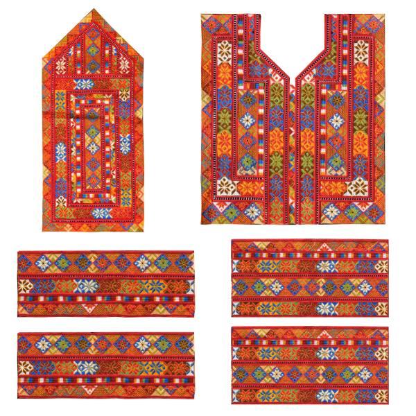 Balochi Embroidery Suzani Dress Panel