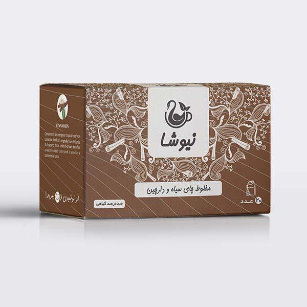 Newsha Iranian Black Tea with Cinnamon