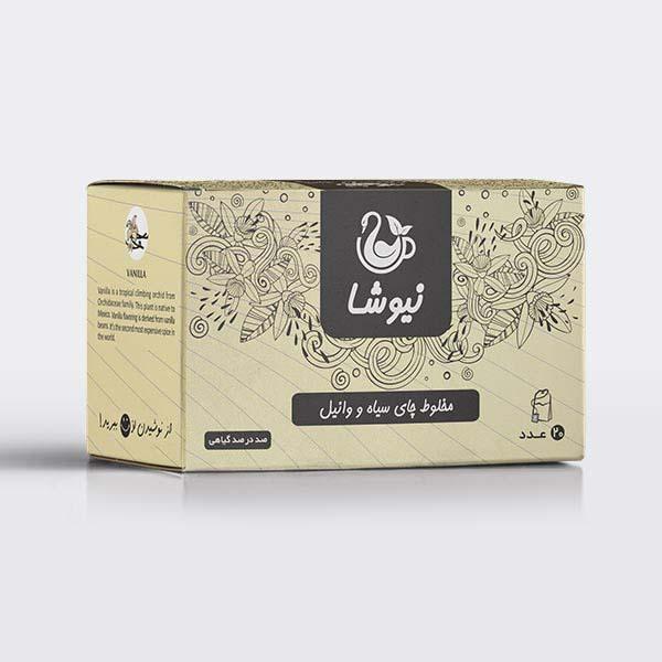 Newsha Iranian Black Tea with Vanilla