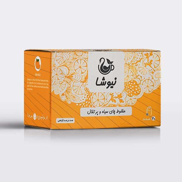 Iranian Black Tea with Orange