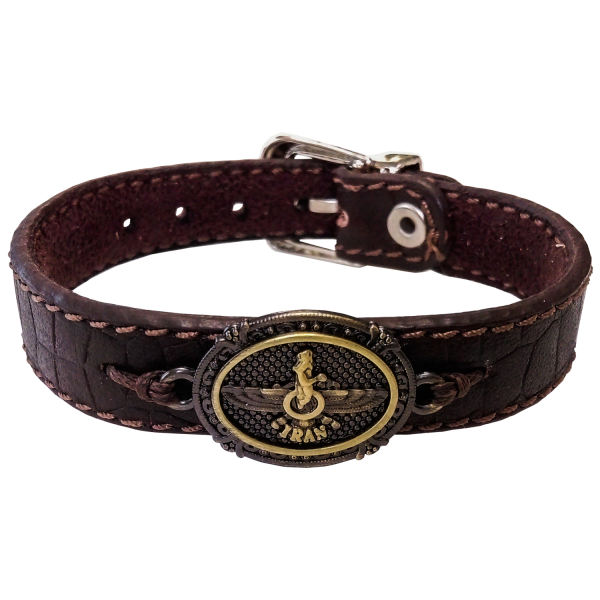 Persian Leather Bracelet – Faravahar60