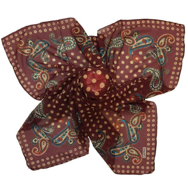 Cashmere Persian Silk Scarf Model Termeh