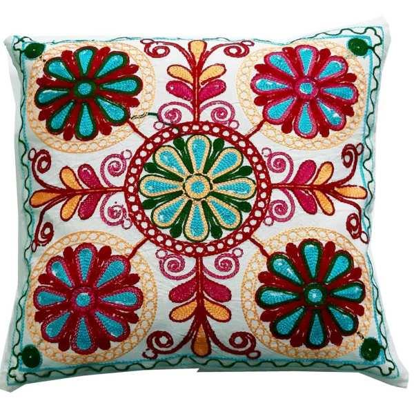 Set of 2 Suzani Cushion Cover A82