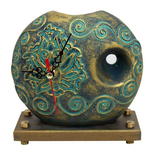 Luxury Desktop Clock Model Pot