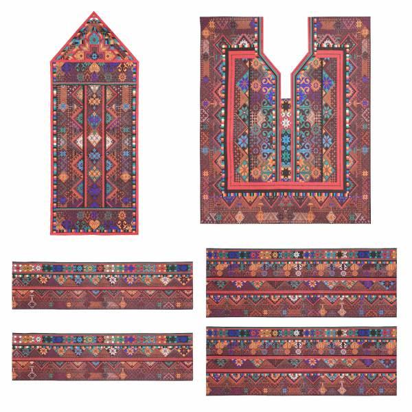 Balochi Embroidery Dress Panel GL