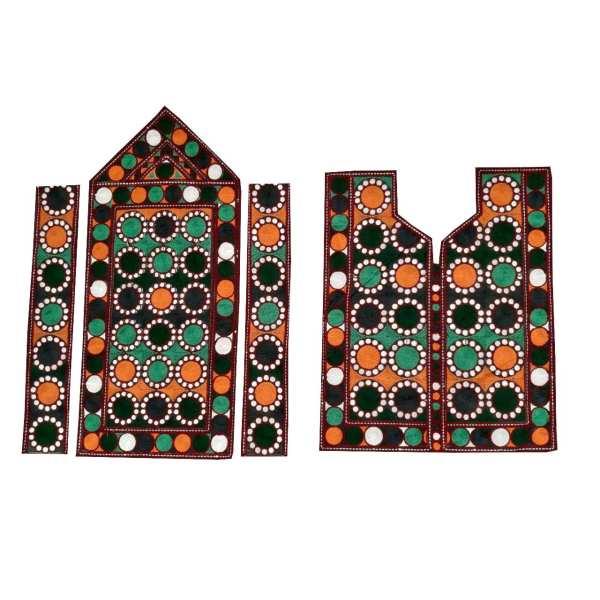 Balochi Embroidery Needlework Dress Panel A21