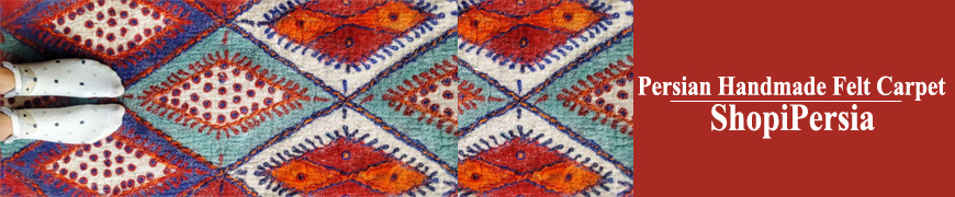 Handmade Persian Felt Carpet Store | ShopiPersia