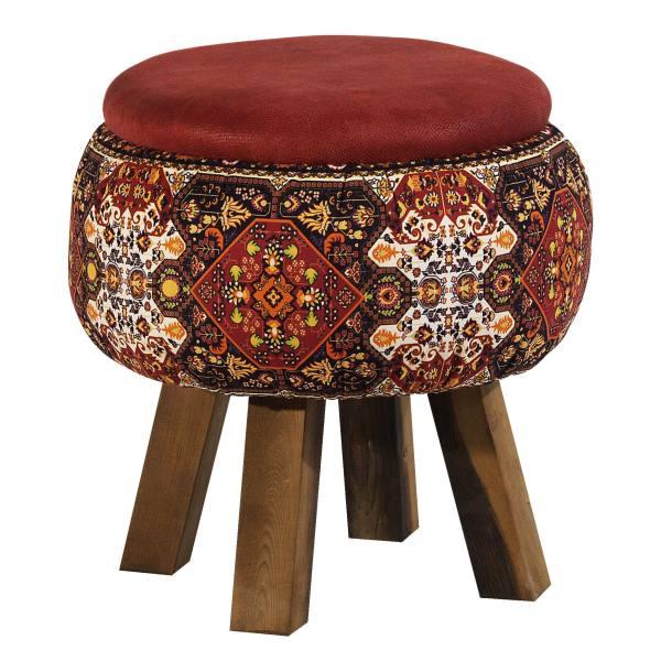 Persian Footstool Pouf Model Carpet