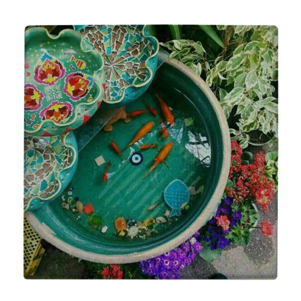 Persian Ceramic Tile Fish WK577