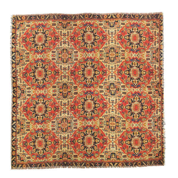 Persian Carpet Pattern Square Scarf
