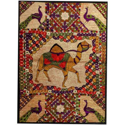 Persian Hand Embroidery Suzani Tablecloth A6