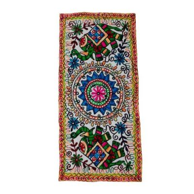 Persian Hand Embroidery Suzani Tablecloth A33