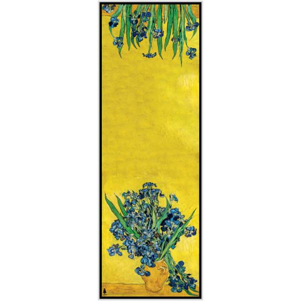 Persian Shawl Scarf - Irises