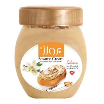 Oghab Vanilla Sesame Cream, 600 Gram (3x)