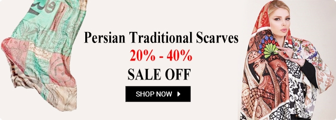 Persian Tile Shawl - Scares Fashion Store | Online Persian Fashion Store - ShopiPersia