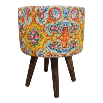 Persian Footstool Pouf Model Shad