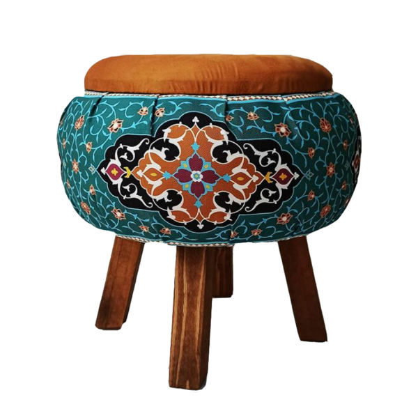 Persian Footstool Pouf Vnd89