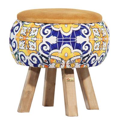 Persian Footstool Pouf AK73
