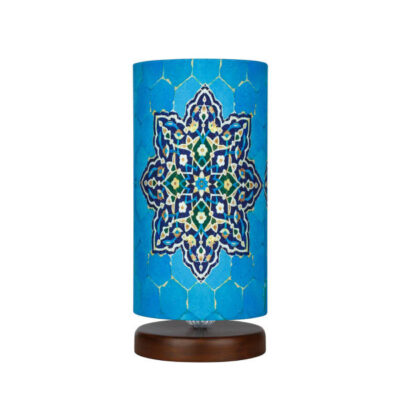 Persian Wooden Lampshade T18