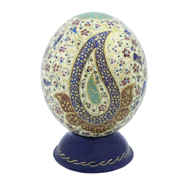 Persian Ostrich Egg Shell Model Harir