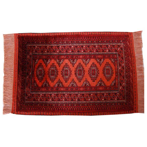 Handmade Persian Carpet , Turkoman 17