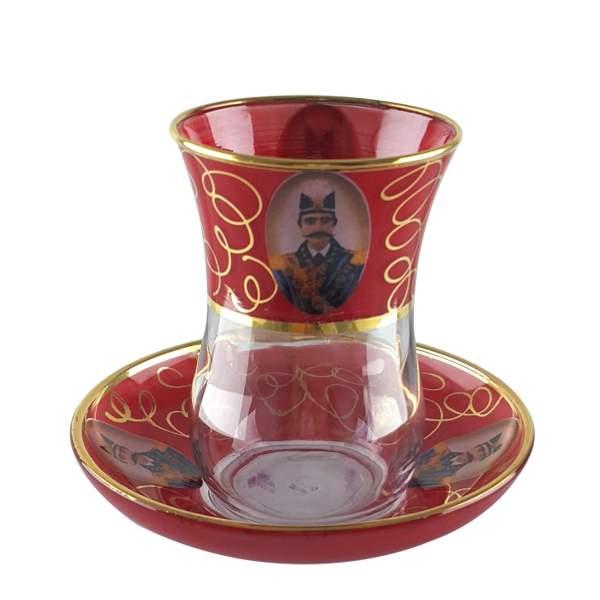 Tea Cup & Saucer Set Model Shah Abbasi