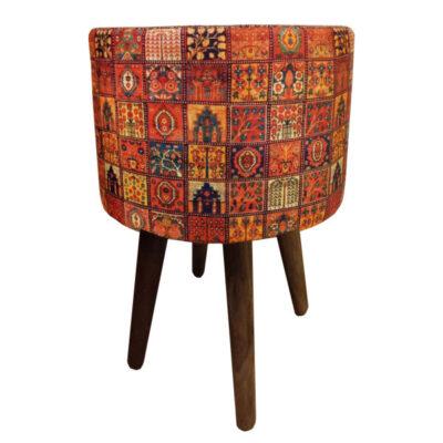 Persian Footstool Pouf Model Kilim