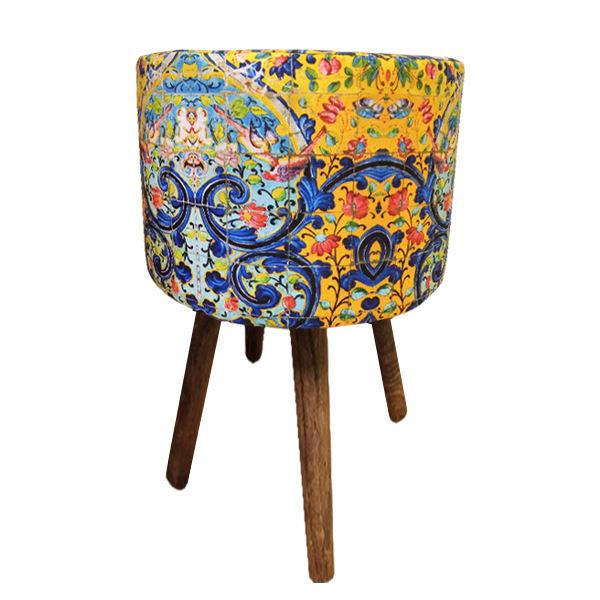 Persian Footstool Pouf Model Firuz