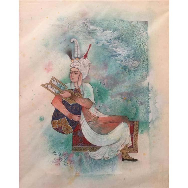 Persian Miniature Painting - Ava