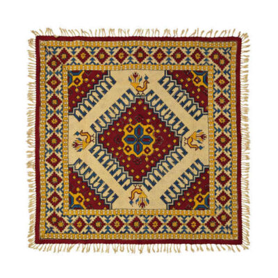 Kalamkari Square Tablecloth Model kilim