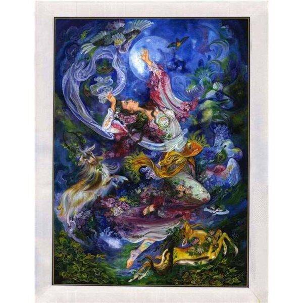 Persian Miniature Painting - Angel