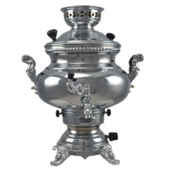 8 Liter Persian Gas Brass Samovar 97