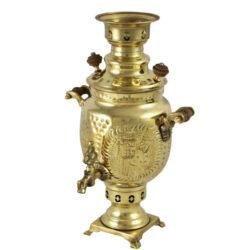 Persian Coal Brass Samovar M101