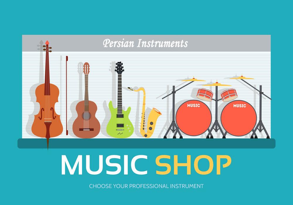 Persian music shop -Santur Santoor - Persian Instrument | ShopiPersia