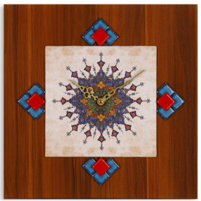 Persian Art Wall Clock - Aram