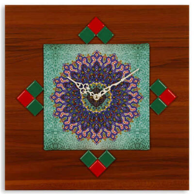 Wall Clock Iranian Art Model Aram