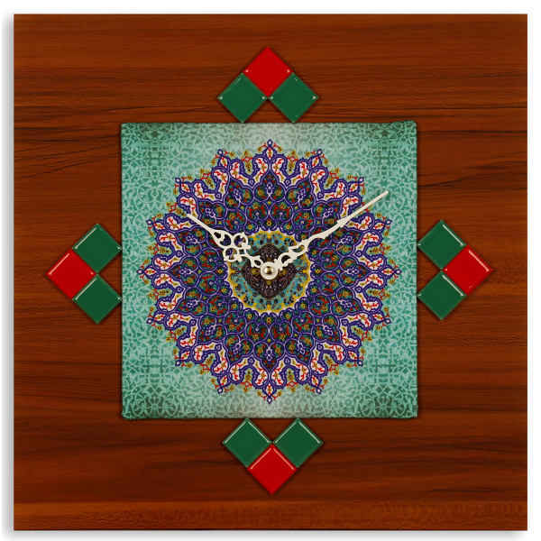 Wall Clock Iranian Art Model Aram