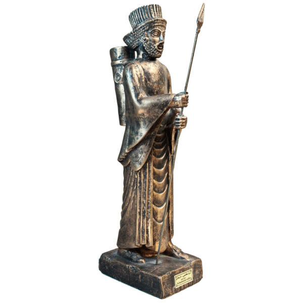 Persian Immortals Achaemenid Spear Soldier Statue