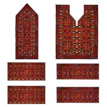 Balochi Needlework Dress Panel - Embroidery