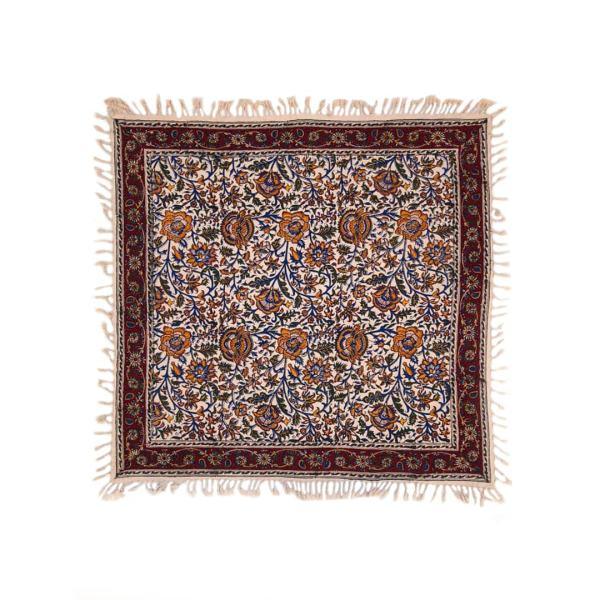 Persian Tablecloth Block Print Kalamkari - Qajar